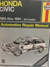 Haynes Automotive Repair Manual Honda Civic 42023 (1227) 1984 - 1991 - $18.65