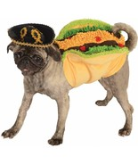 "Rubie's Costume Extra Large TACO Chest 24"" Neck to Tail 28"" Bulldog Coll... - $42.56"
