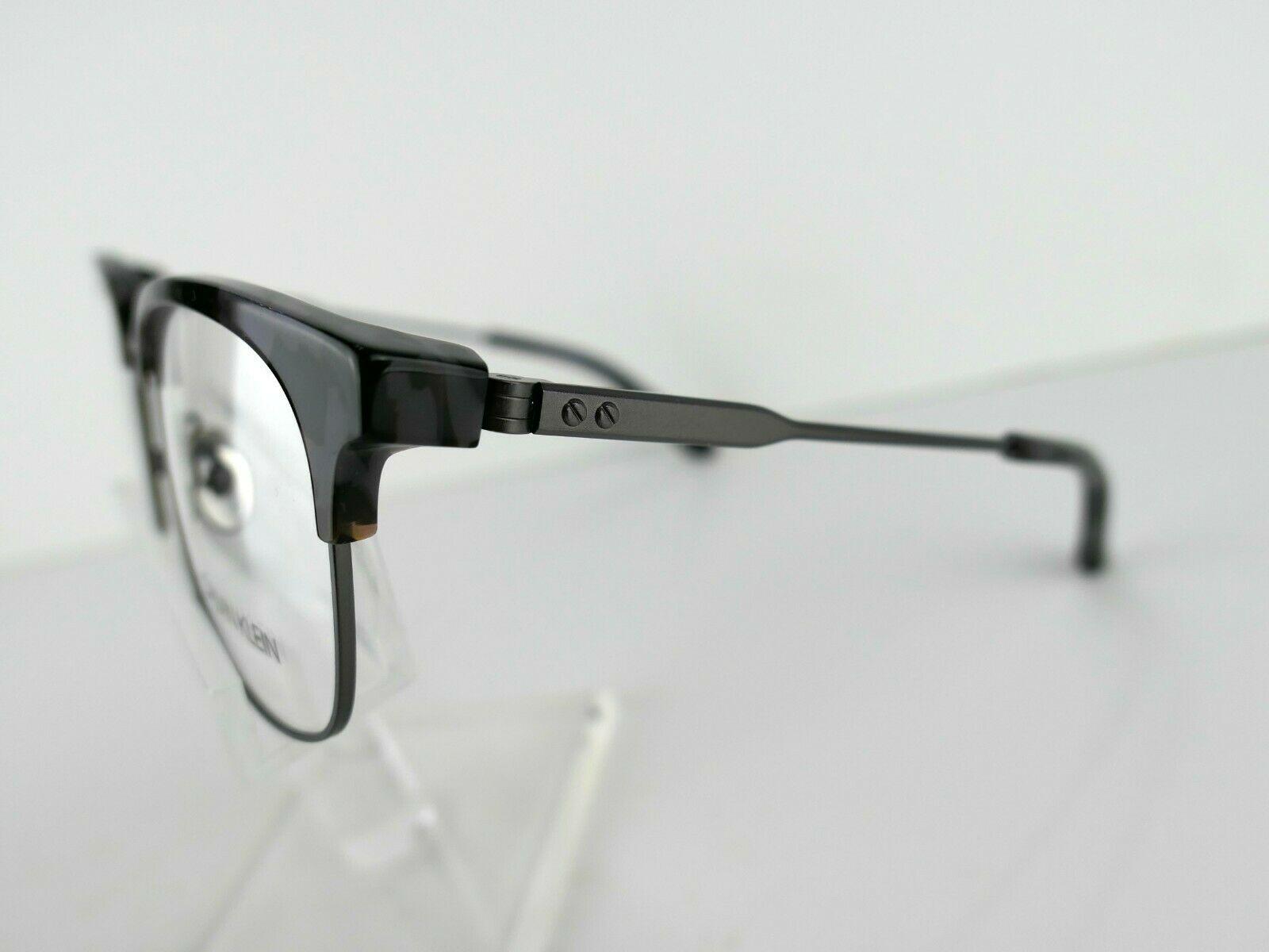 CALVIN KLEIN ck 8060 (026) Charcoal Tortoise  52 X 19 140 mm Eyeglass Frame