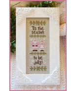Tis The Season christmas cross stitch chart Country Cottage Needleworks - $5.40