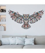 Removable Colorful Owl Rooms Wall Decorations - $7.99