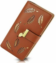 Woman's Elegant Wallet with Zipper Compartment, Plenty of Room for Cards