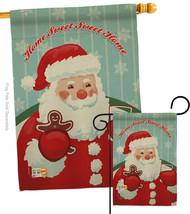 Sweet Home Santa - Impressions Decorative Flags Set S114200-BO - $57.97
