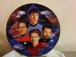 Hamilton Collection Star Trek 30th Ann Collector Plate Second in Command... - $19.79