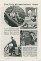 1941 Magazine Article People Preserving Gas for War Effort WWII Muscles ... - $9.99