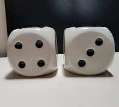 Ceramic Dice Ash Pot Ashtray Vintage Japan Lot of 2 - $12.19