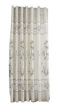 PANDA SUPERSTORE Lovely Bamboo Polyester Privacy Hanging Curtain Valance for Win