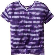 Splendid Girls' Tie Dye Loose Knit Top, DGE01606X, lavender, Size 5/6, M... - $23.36