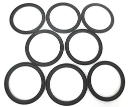 LOT OF 8 NEW A3 0-40MPF-SFY FLANGED CLAMP VITON GASKETS 4""