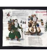 Cranston Print Works VIP No-Sew Fabric Applique Father Christmas Joan Me... - $12.97