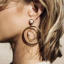 Casual Fashion Women Bohemia Hollow Earrings - $20.05 CAD