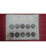 Antique Chinese Old Coins 1644-1911 SHUN-CHI SHUEN-TUNG Bronze Square Co... - $35.00