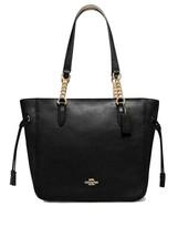 Coach F72650 Elle Chain BLACK Leather Bag  NWT - $138.59