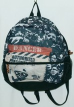 Bioworld Zombie 100 Percent Polyester Backpack Color Black image 1