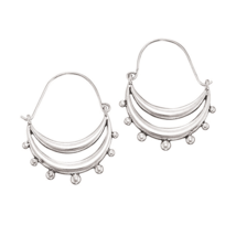 Avon Pacific Paradise Hoop Earrings - $8.99