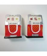 Vintage 1950's Las Vegas NV Jackpot Slot Machine Salt & Pepper Shakers -... - $10.99