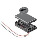 3x AAA (Micro) Battery Holder - Loose Cable Ends, Water-Repellent, Switc... - $3.78