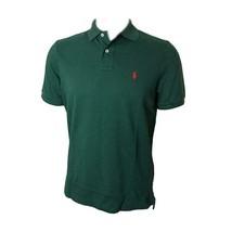 New Polo Ralph Lauren Classic Fit Mesh Pony Logo Polo Shirt XL Green - $39.95