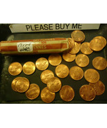 1997-P UNCIRCULATED LINCOLN CENT ROLL              >> C/S & H  - $5.94