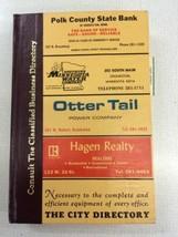 1974 Crookston MN minnesota Polk's City Directory R.L. Polk & Co Genealo... - $49.99