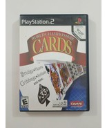 World Championship Cards PS2 Game 2007 Crave Playstation 2 - $5.89
