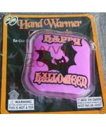 Purple & Black bat re-usable Halloween Hand warmer NEW - $3.99