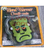 Frankenstein re-usable Halloween Hand warmer NEW  - $3.99