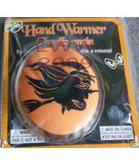 Orange Witch Oval re-usable Halloween Hand warmer NEW - $3.99