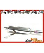 ROYAL ENFIELD 350cc SILENCER COMPLETE CHROMED B... - $43.99