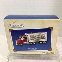 2003 Santa's Big Rig #25 Hallmark Christmas Tree Ornament MIB Price Tag H8 - $14.36