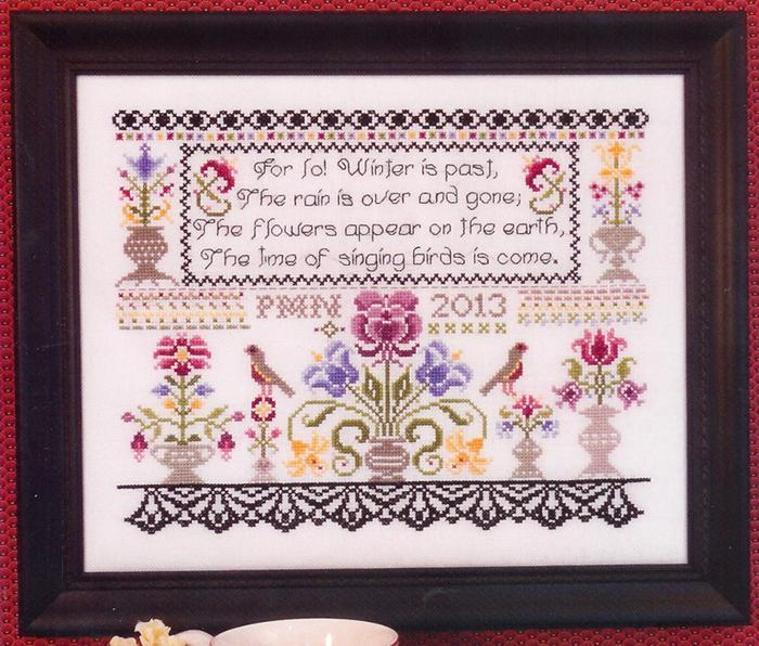 Graystone Manor Sampler cross stitch chart Rosewood Manor
