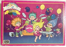 Vintage 1992 Applause Magic Trolls 100 Piece Puzzle by RoseArt Rocking Out - $12.61