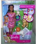 Barbie DOGGY DAYCARE AA Doll New - $30.88