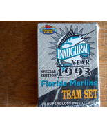 Florida Marlins Inaugural Team Set. 1993 Topps Stadium Club  - $3.99