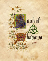 BOOK OF SHADOWS HAND ILLUSTRATED ANCIENT SPELLS, CURSES, LETTERS, 349 PA... - $50.00