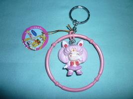 Sailor Moon Rare Japan Banpresto key ring key chain round sailor chibimo... - $19.98