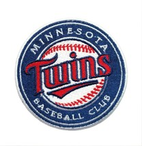"Minnesota Twins World Series MLB Baseball Fully Embroidered Iron On Patch 3.0"" - $8.87"