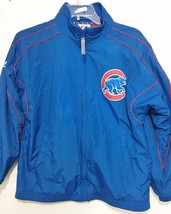 Chicago Cubs Youth Boys L 10/12 Baseball MLB Majestic Blue Jacket - $45.39