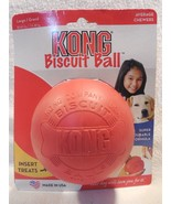 KONG Biscuit Ball Dog Toy For Large Dogs 30-65 Lbs BB1 - $9.95