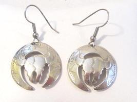 Vintage sterling silver 925 Dangle earrings - $25.00