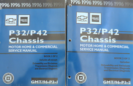 1996 GM Chevy GMC P32/42 Chassis Service Repair Shop Workshop Manual Set... - $11.83