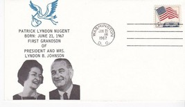 PATRICK LYNDON JOHNSON BORN 1ST GRANDSON OF LYNDON JOHNSON WASHINGTON 6/... - $1.98