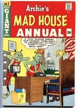 Archie's Mad House Annual #3-aliens-US Flag-US Capitol-Sabrina-G/VG - $88.27