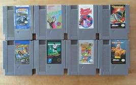 Lot of 8 Nintendo NES Video Game Cartridges - $24.74