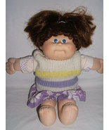 VINTAGE 1986 CABBAGE PATCH DOLL CORNSILK HAIR GIRL + OUTFIT - $17.00