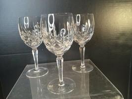 "Gorham Crystal Lady Anne  Wine Goblet 6 7/8"" - Lot Of 3 Lead Crystal - $90.00"