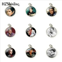 2019 New Elvis Presley Dome Cabochon Charms Famous Star Elvis Presley Crystal Ro - $7.54