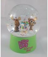 """Justice BFF Snowglobe 2010 5"""" Tall Snow Globe - $6.95"""