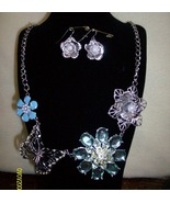 Necklace  Set with  Pierced  Earrings - $19.95