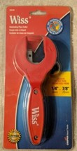 Wiss Ratcheting Pipe Cutter Adjusts To Cut Pipe Diameters From 6MM-23MM image 1